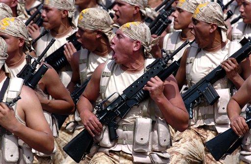 Peru Military Parade