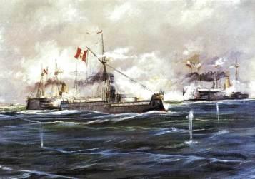 Combate de Angamos 8 de Octubre de 1879