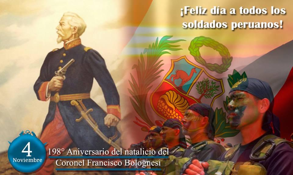 Honor y gloria al Coronel Francisco Bolognesi | Report Per�